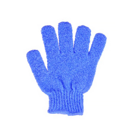 Glove for body scrub