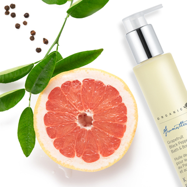 NEW! Grapefruit Black Pepper Bath & Body Oil